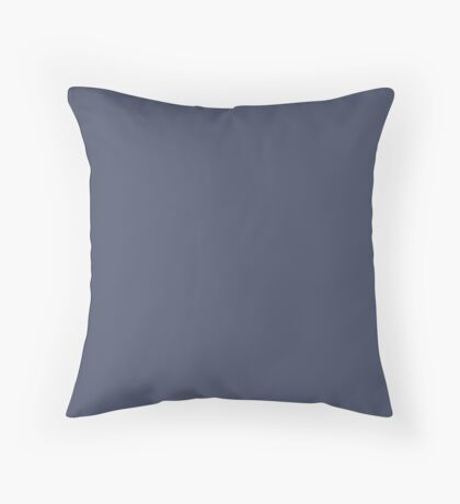 Sargasso Sea| Pantone Fashion Color | Fall : Winter 2018 | New York and London | Solid Color Throw Pillow