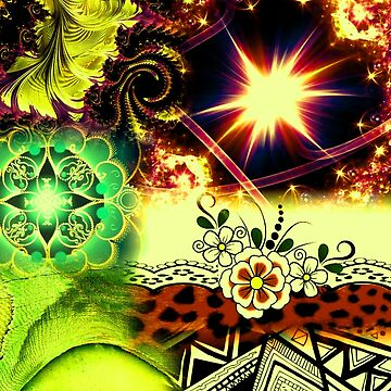 EARTH TONE STARSHINE by ImaniArtworks