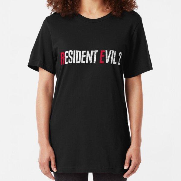 Resident Evil 2 Remake Logo Slim Fit T-Shirt