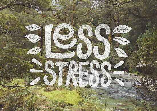 Less Stress by cabinsupplyco