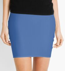 Nebulas Blue | Pantone Fashion Color | Fall : Winter 2018 | New York and London | Solid Color Mini Skirt