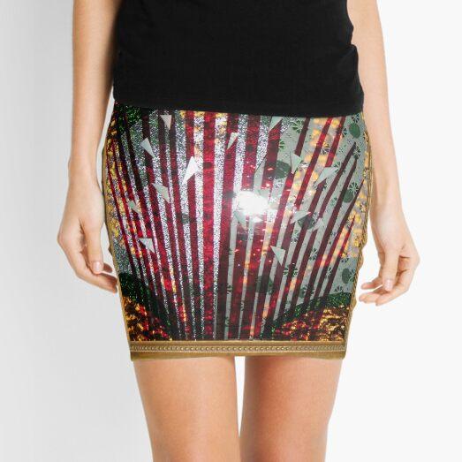 Glass Assemblage  Mini Skirt