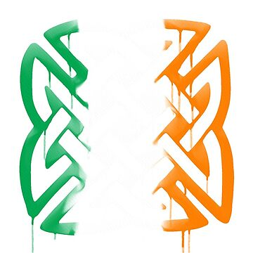 Tricolour Celtic knot by honeythief