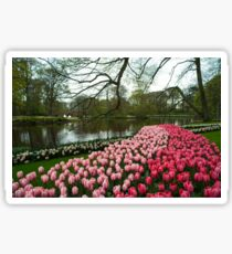 Tulip Lake  Sticker