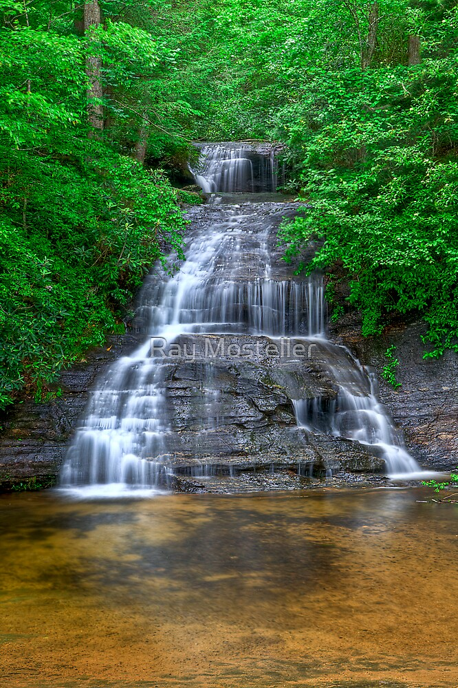 9638 - Waterfall x3 by Ray Mosteller