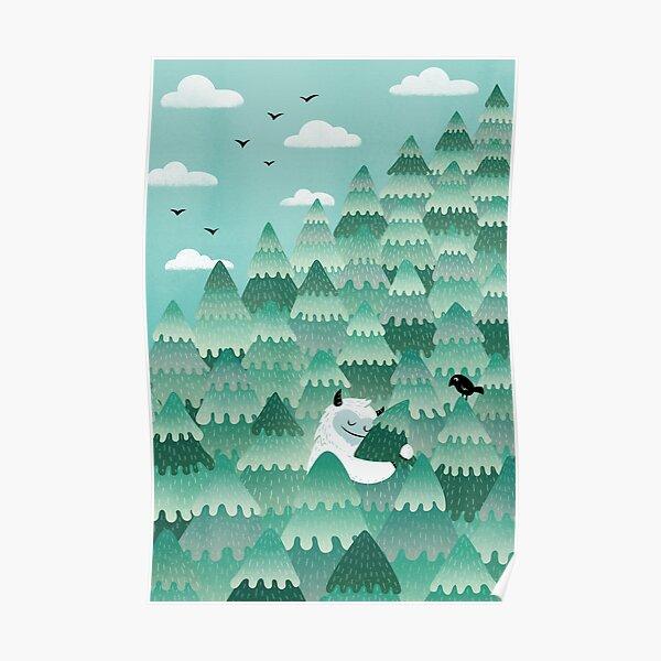 Tree Hugger (Spring & Summer version) Poster