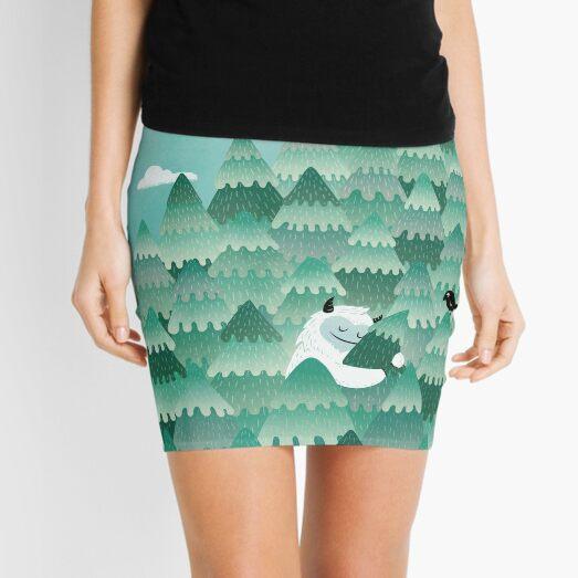 Tree Hugger (Spring & Summer version) Mini Skirt