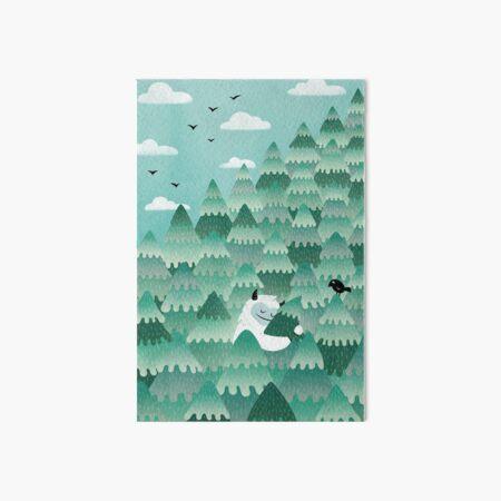 Tree Hugger (Spring & Summer version) Art Board Print