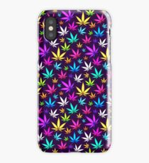 Colorful OG Herb Pattern iPhone Case