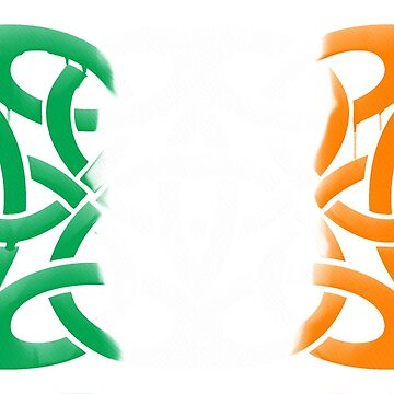 Celtic knot tricolour by honeythief