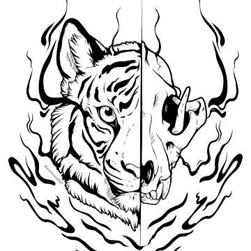 Ink Stripes  by aunumwolf42