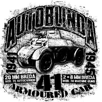 Autoblinda 41 by deathdagger
