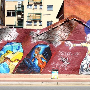 Street Art & Graffiti, Johannesburg by Carole-Anne