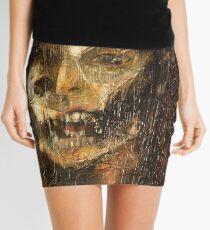 portrait of the king Mini Skirt