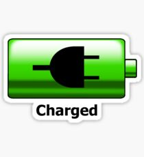 Charged Sticker