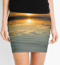 Sunset Ripple Mini Skirt
