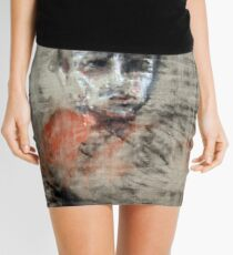 portrait of obscurity Mini Skirt