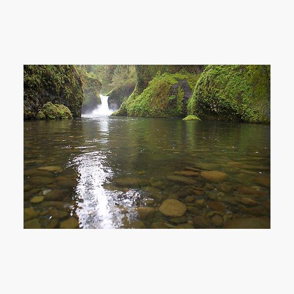 Punch Bowl Falls Photographic Print