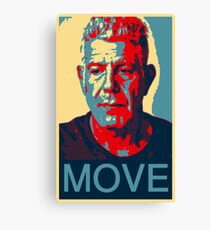 Anthony Bourdain famous chef quote  Canvas Print
