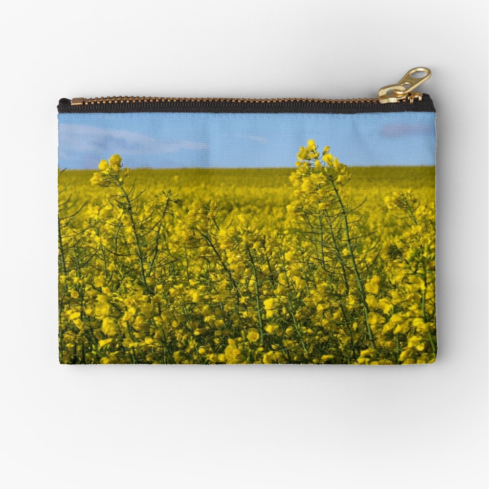 Yellow Zipper Pouch