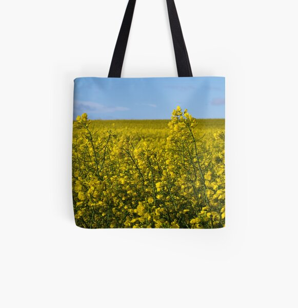 Yellow All Over Print Tote Bag