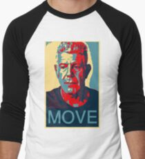 Anthony Bourdain famous chef quote  Men's Baseball ¾ T-Shirt