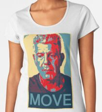 Anthony Bourdain famous chef quote  Women's Premium T-Shirt