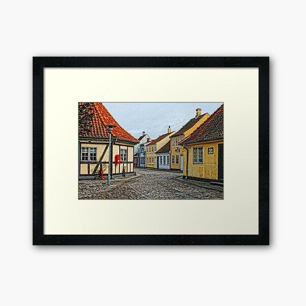 Village of Odense Framed Art Print