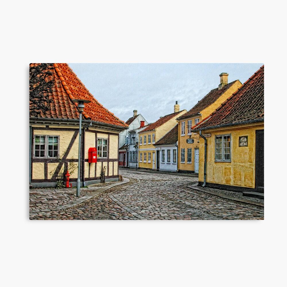Village of Odense Canvas Print