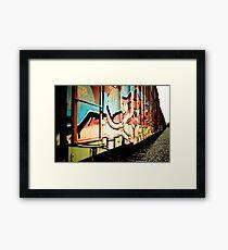 Train Art Framed Print