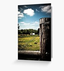 Country Greeting Card