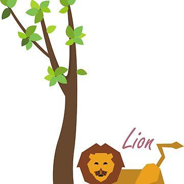 lion by fafaisalabdau19