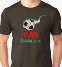 Iran Football Soccer World Championship Cup Russia 2018 T-Shirt  Unisex T-Shirt