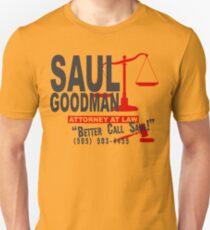 Saul Goodman Gesetz Funny Geek Nerd Slim Fit T-Shirt