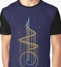 Spiral Art Graphic T-Shirt