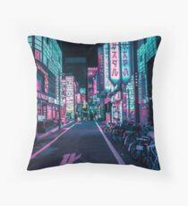 Tokio - Ein Neon-Wunderland Sitzkissen