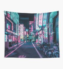 Tokyo - A Neon Wonderland Wall Tapestry