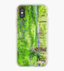 Bluebell Woodlands 1 iPhone Case