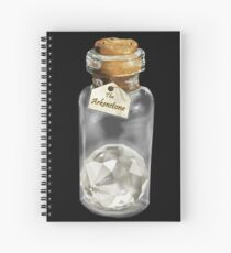 The King's Jewel; the Arkenstone Spiral Notebook