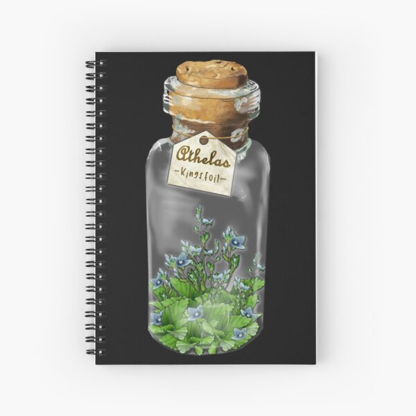 Athelas plant Spiral Notebook