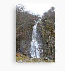 Aber falls, Wales Canvas Print