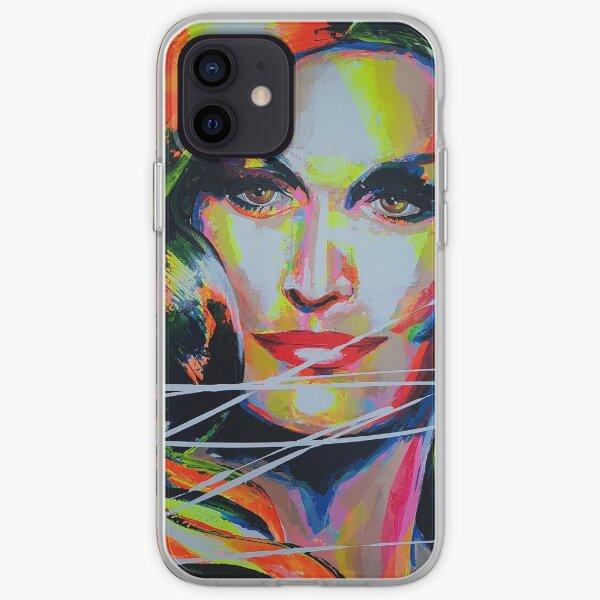 Dalida Art painting Coque souple iPhone
