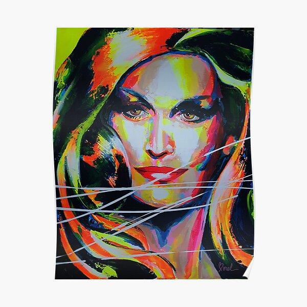 Dalida Art painting Poster