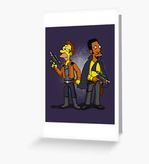 Smugglers in love. Greeting Card