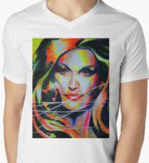 Dalida Art painting Men's V-Neck T-Shirt