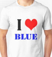 Design love blue Unisex T-Shirt