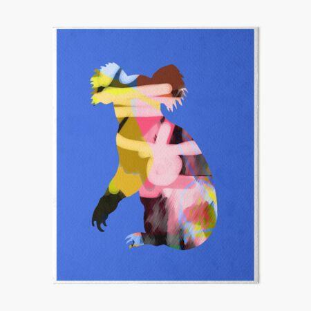 Koala Blue Art Board Print