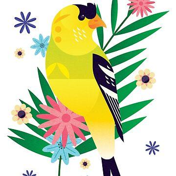 Goldfinch by jamesboast