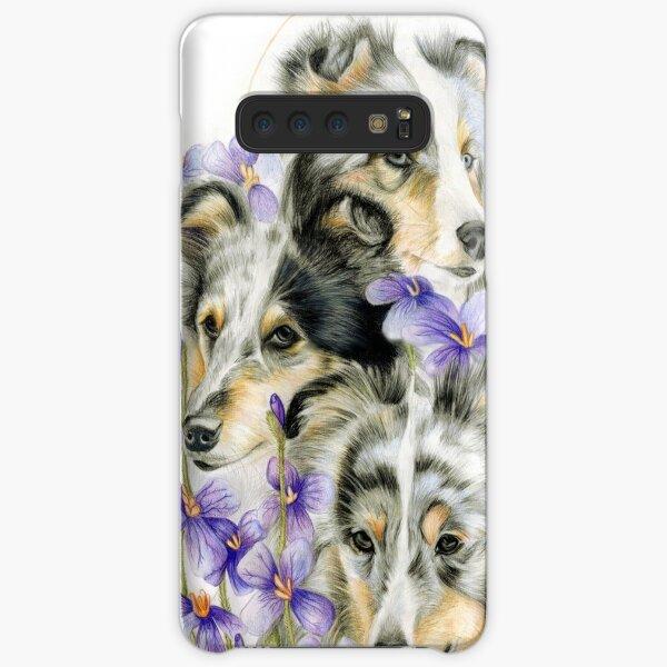 Merle Shelties Samsung Galaxy Snap Case