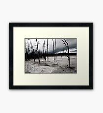 Desolate Landscape Framed Print